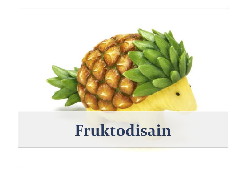 Fruktodisain